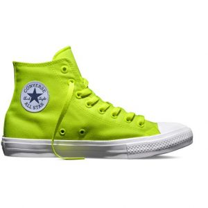 Converse Chuck Taylor All Star II Neon Hi Green
