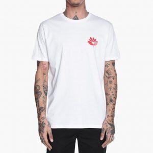 Magenta T-shirt Tee White